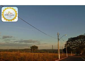 Solar park nova canaã |*parcelas: r$ 309,00 |*lote: 250 m²