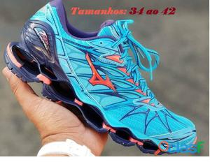 Tênis mizuno wave prophecy 7   varias cores