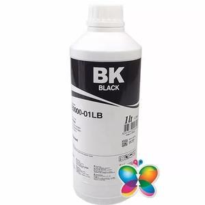1 litro - tinta pigmentada inktec hp - h0005 black - recarga