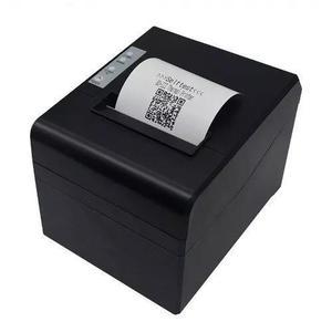 10 impressora 80mm térmica de cupom com guilhotina usb qr