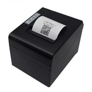4 impressora 80mm térmica de cupom com guilhotina usb qr