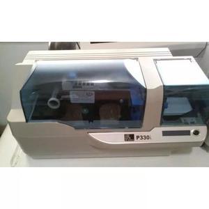 Impressora de cartao crachas de pvc zebra p330i usb