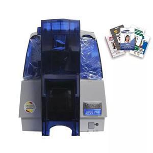 Impressora de cartão pvc e crachás datacard sp55 colorida