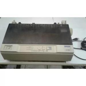 Impressora matricial epson lx-300 c/ tampa (336 vendidos)
