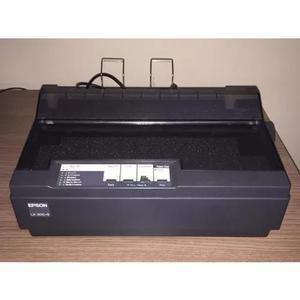 Impressora matricial epson lx 300 ii + preta frete grátis