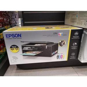 Impressora multifuncional epson ecotank wifi direct l396 nov