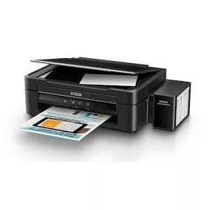 Impressora multifuncional epson tanque de tinta l380 usb