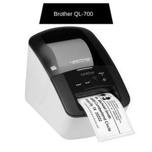 Impressora térmica p/etiquetas ql-700 brother cx 1 un