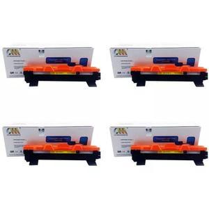 Kit 4 cartucho toner tn1060 / tn-1060 / hl1112 / dcp1512