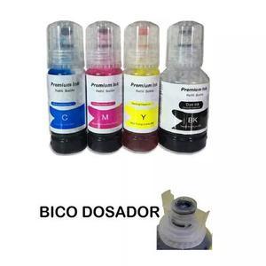 Kit 4 tinta epson l4150 l4160 l6171 l6191 t504 - 4 cores