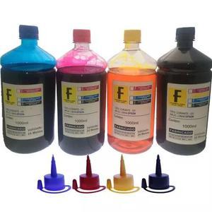 Kit recarga epson 4 litros impressoras l355 l365 l375 l395