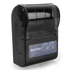 Mini impressora térmica 58mm bluetooth usb qr code android