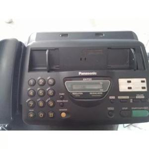 Aparelho de fax panasonic mod.kx - ft21 funcionando