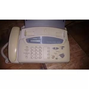 Aparelho de telefone e fax brother - fax 560 - papel comum