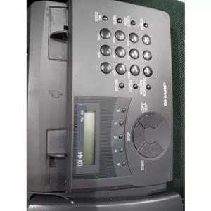 Aparelho fax sharp ux-44 revisado 100% 110 volts garantia
