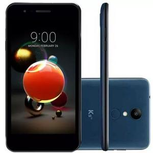 Celular lg k9 tv digital azul 16gb tela 5 dual chip câ