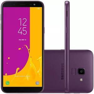 Celular samsung galaxy j6 violeta 32gb tv digital tela d