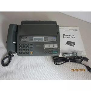 Fax digital c/ secretária eletrônica panasonic -kx-f750