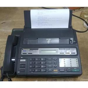 Fax panasonic com secretaria de fita(no estado)