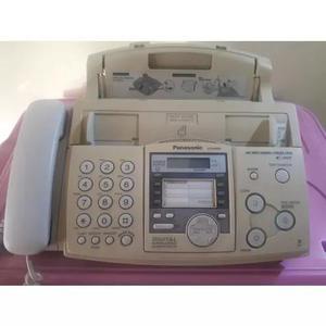Fax panasonic com secretária, usa folha a4 (frete grátis)