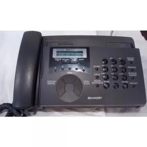 Fax sharp funcionando - faz / recebe ligações e cópias