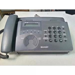 Fax/tel secretaria eletronica sharp fo 90a-viva voz e corte