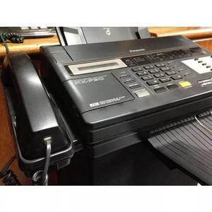 Panasonic telefone/fax mod.kx-f90 c/secr. eletronica-usado