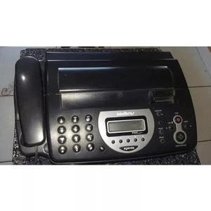 Secretaria eletrônica com fax e telefone, perfeito estado
