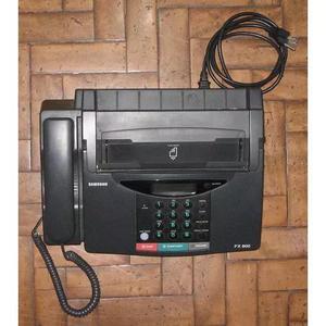 Telefone e fax de papel térmico samsung fx800