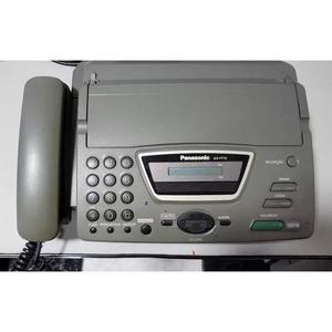 Telefone fax panasonic kx-ft72br 127 volts usado