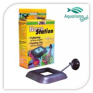 Anel de alimentação para peixes jbl novo station aquário