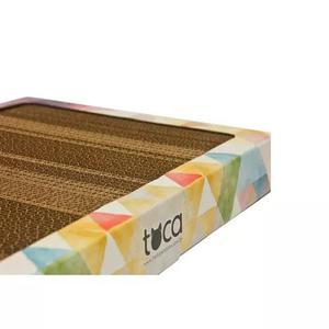 Arranhador modelo caixa para gatos de papelão