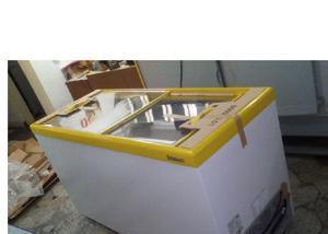 Comgelo freezer refrigerador gelopar ghde 410 tampa vidro