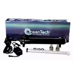 Filtro uv 18w ocean tec ultra violeta tubo cristal 110 lagos