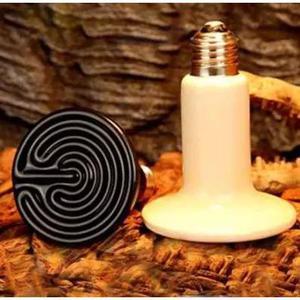 Lampada aquecimento cerâmica 150w 220v aves/ cobras