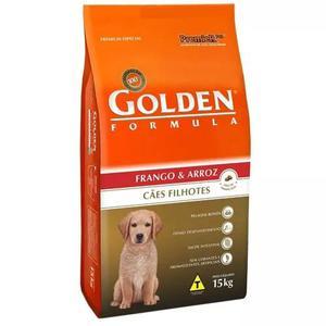 Ração golden formula para cães filhotes frango e arroz 15