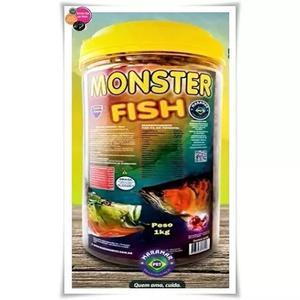 Ração monster fisch 1kg maramar bits 20mm
