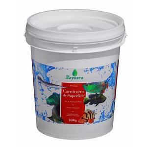 Ração poytara carnívoros de superfície 1600kg-balde