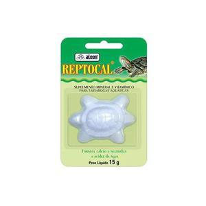 Reptocal cálcio para tartarugas - 15ml - alcon