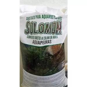 Substrato fértil solomon 15kg p/ aquario plantado