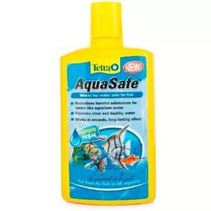 Tetra aquasafe 250ml - neutraliza o cloro e metais pesados
