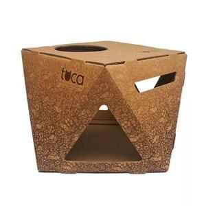 Toca borboleta - caixa de papelão para gatos - hello pets