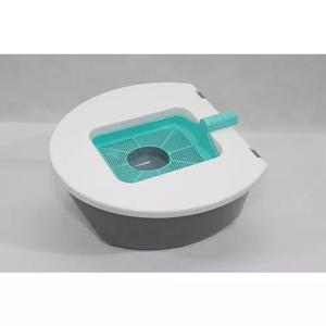 Wc cat gatoalete sanitário para gatos verde - un