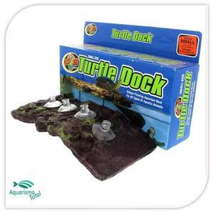 Zoomed turtle dock deck para tartarugas aquaterrário - peq.