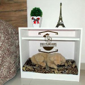 Cama pet criado mudo + colchão (cama para raças pequenas)