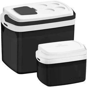 2 caixa térmica cooler soprano 32 e 5 litros