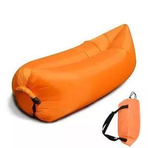 2 sofa inflável puff saco de dormir camping praia portatil