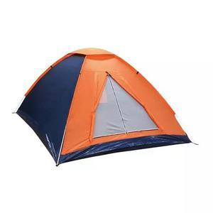Barraca camping 3 pessoas nautika panda 3 pessoas azul