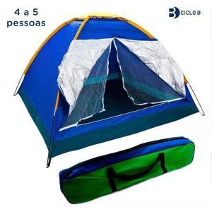 Barraca camping iglu tenda 4 a 5 pessoas acampamento bolsa