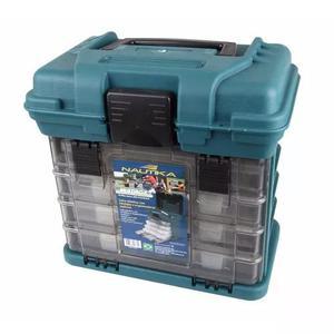 Caixa de pesca multiuso multibox mb1 plano estojo - nautika